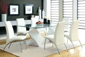 designer glass dining table and chairs modern glass dining room sets captivating dining room sets glass