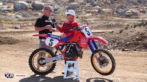 Racer X Films: Rick Johnson Interview | 1986 Honda CR250 | Garage Build |  Two-Stroke Motocross - YouTube