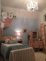 Paper Flowers, Princess Room, Pink And Blue Room Ideas, 6 Year Old Girl,  Jaxlenn