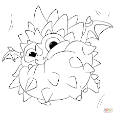 Small Picture Skylanders Swap Force Pop Thorn coloring page Free Printable
