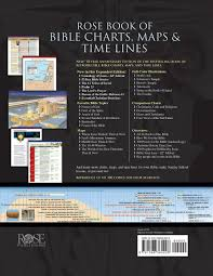 The Baker Book Of Bible Charts Maps And Timelines Rose Book Of Bible Charts Maps Time Lines Vol 1 10th