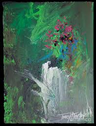 abstract painting abstract nature by tracy l teeter