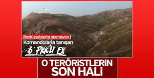 Şırnak'ta öldürülen 6 terörist