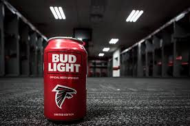 Atlanta Falcons Bud Light Cans