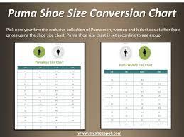 55 Timeless Puma Women Size Chart