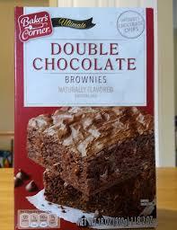 Bakers Corner Ultimate Double Chocolate Brownies Aldi