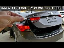 2013 Hyundai Elantra Bulb Chart Hyundai Elantra Inner Tail Light Bulb Reverse Light