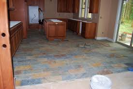 Kitchen With Slate Floor Natural Slate Floor Tile Slate Tile Classic Slate Kitchen Flooring