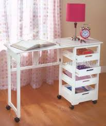 fold away office desk. WHITE FOLD AWAY KIDS DESK SCHOOL WORK CRAFT TABLE SEWING COMPUTER OFFICE DEN Fold Away Office Desk U