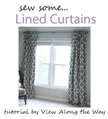 best 25 lined curtains ideas on sewing tab how to make