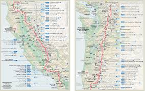 planning a long distance hike – step   research  pacific crest