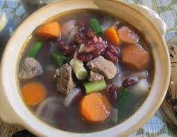 Tambahkan irisan daging dan rebus sampai empuk. Resep Sup Sup Daging Kacang Merah