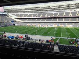 Cellular Park Seating Chart Soldier Field View From Media Deck 234 Vivid Seats