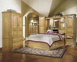 Pier Wall Bedroom Furniture Painted Bedroom Furniture With Oak Tops Restain The A Dark Brown