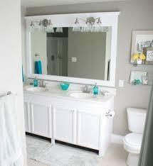 Double Bathroom Mirror Frames Design Ideas  Bathroom Ideas - Bathroom mirror design ideas