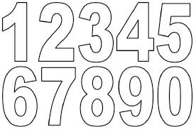 Coloring the numbers is one fun way to do it. Numbers Coloring Pages Pdf Free Printable Numbers Printable Letters Printable Numbers