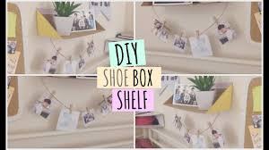 diy shoe box shelf  on diy shoebox wall art with diy shoe box shelf youtube
