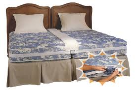 King Size Bed Frame Two Twin Mattresses 2 Beds In One Room Has A Queen And