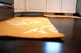 yellow kitchen rugs gray