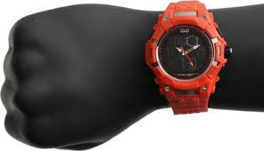 lowest price for q q analog digital watch for men orange price lowest price for q q analog digital watch for men orange price in on 12 2014 specifications features and reviews discountpandit