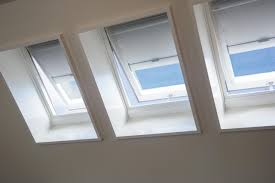 skylight trio with shades