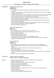 Construction Estimator Resume Sample Civil Estimator Resume Samples Velvet Jobs 8