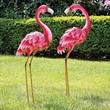 flamingo garden statue. Contemporary Flamingo Image Is Loading MetalFlamingoGardenStatuesDecorLawnYardGarden Intended Flamingo Garden Statue D