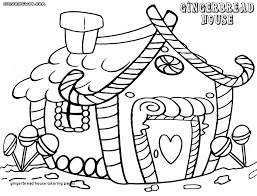 Gingerbread Girl Coloring Pages Beautiful 30 Gingerbread House