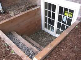 basement egress windows. Egress Window/door Turns Basement Into A Walk-out. Jenna Look! This Would Work At Your House! Windows