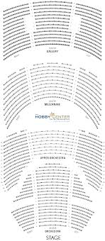 Hobby Center Seating Chart Seat Maps The Hobby Center