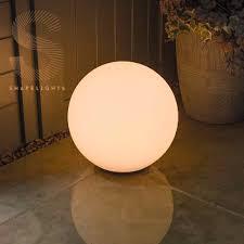Solar Powered Outdoor Lights Uk Shapelights Indoor Outdoor Usb Solar Powered Mood Light Sphere