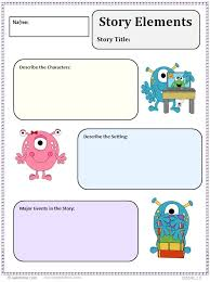 Story Elements Worksheet Worksheets for all   Download and Share ...