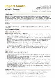 Electrician Apprentice Resume Samples Apprentice Resume Samples Qwikresume