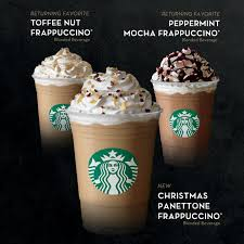 starbucks frappuccino flavors 2015. Modren 2015 Starbucks New Christmas Panettone Frappuccino Blended Beverage And Flavors 2015