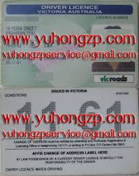 Australia Victoria Buy Online Drivers Licence Certificate Fake