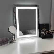 keller led lighted makeup mirror by international lighted make up mirror u74