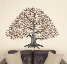 metal tree wall décor cole grey