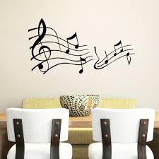 music notes in words us 3 19 20 off music note decor mural art vinyl wall sticker decal home decor words wall art wallpaper in wall stickers from home garden on