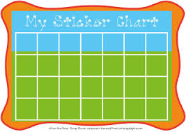 How To Make A Sticker Chart My Sticker Chart Free Graphics From The Pond