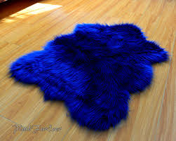 royal blue rug. Navy Blue Shaggy Plush Sheepskin Faux Fur Nursery By PlushFurever Https://www. Royal Rug