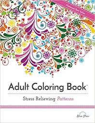 Adult Coloring Book Stress Relieving Patterns Adult Coloring Books