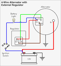 alternator wiring diagram external regulator at external regulator alternator wiring diagram yinxing me on 12v alternator wiring diagram