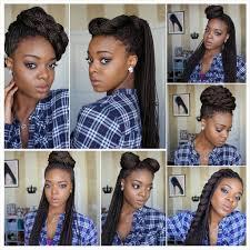 Box Braid Hair Style box braid updo hairstyle cool box braids hairstyles 2016 1008 by wearticles.com