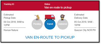 What Are The Different Kinds Of Order Status Ninja Van Ph