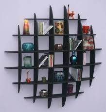 dvd cd storage rack wall mounted unit retro style