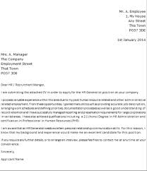 Cover Letter For Hr 10 Dear Human Resources Cover Letter Resume Samples