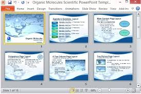 Template For Science Fair Project Scientific Presentation Template Science Fair Presentation Templates