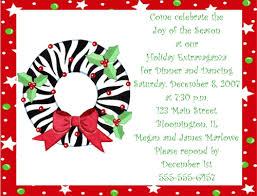 Wording For Holiday Party Invitation Zrom Tk