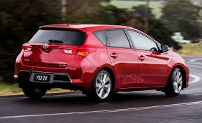 Toyota Corolla 2014 Red Rear Angle View. Is this a hatchback? | My ...