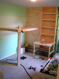 Floating Loft Bed Plans For Bunk Beds With Storage Stairs Wooden Furniture Plans